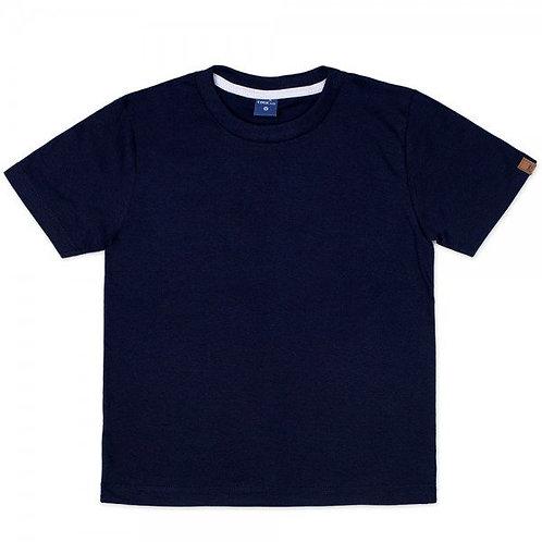 Camiseta Manga Curta Marinho