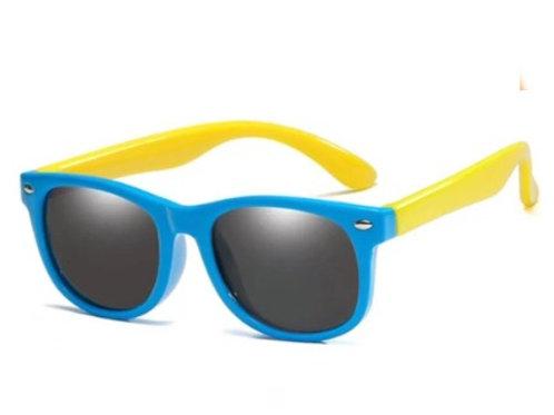 Óculos flexível Azul/Amarelo
