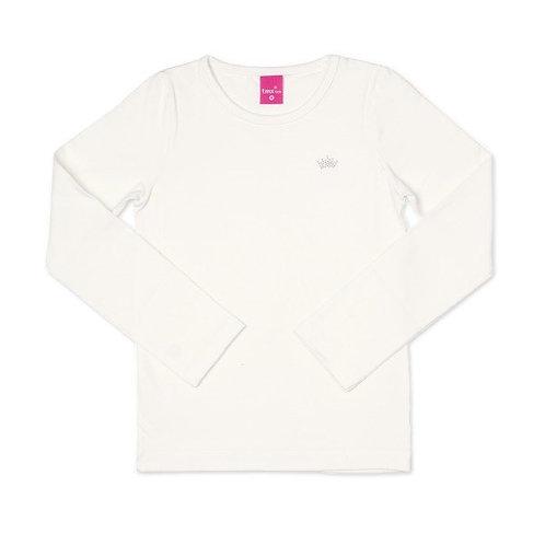 Blusa Manga Longa em Cotton Branca