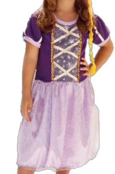 Fantasia Rapunzel com Tiara