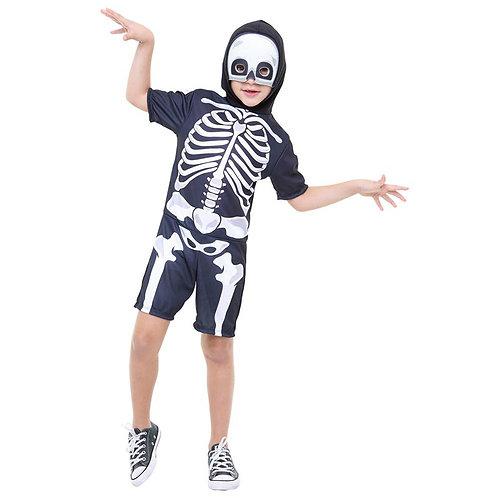 Fantasia Esqueleto com Máscara