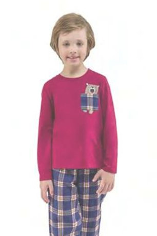 Pijama Infantil Família Urso