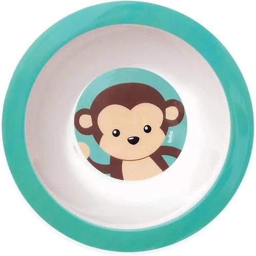 Pratinho Bowl•Animal Fun- Macaco