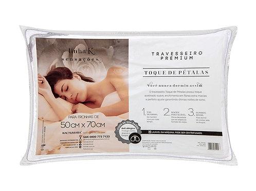 Travesseiro  Premium Toque de Pétalas