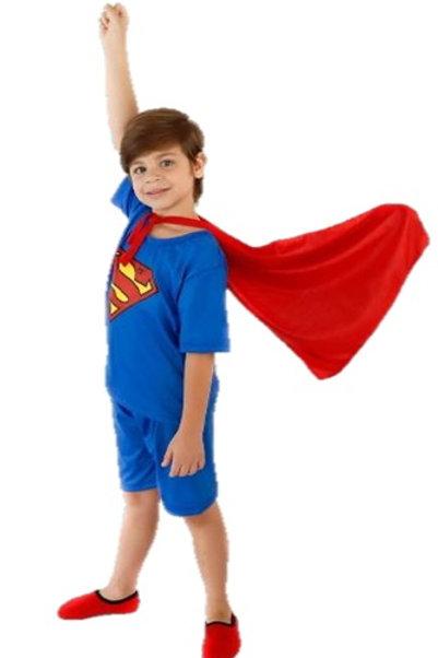 Pijama Super-Homem sem Capa
