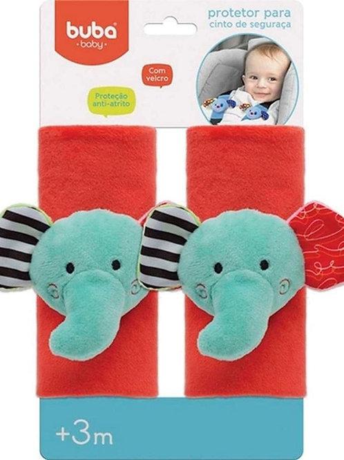 Protetor para Cinto de Segurança - Elefantinho Happy Zoo