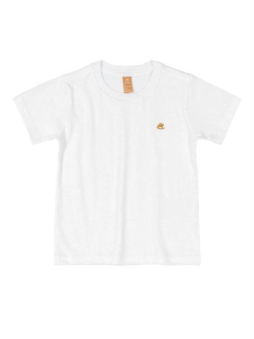 Camiseta Manga Curta em Meia Malha