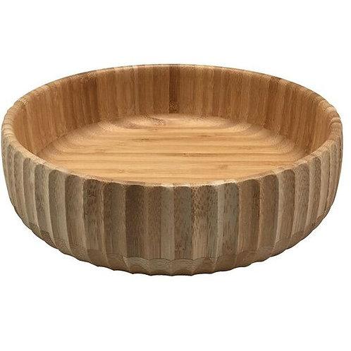 Bowl Canelado de Bambu Grande