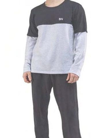 Pijama Adulto com Recorte
