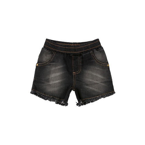 Short em Tecido Jeans
