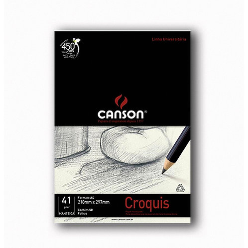 Bloco Canson papel Croquis