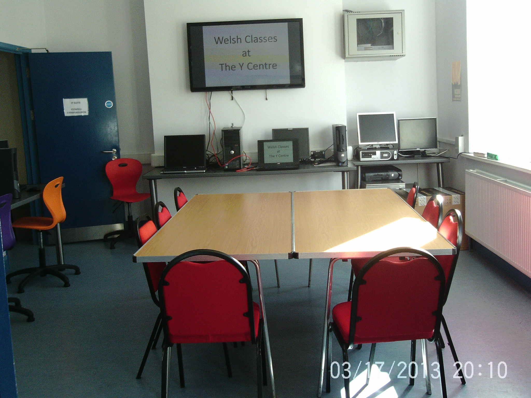 Porthcawl YMCA IT Suite