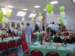 Hall as function room