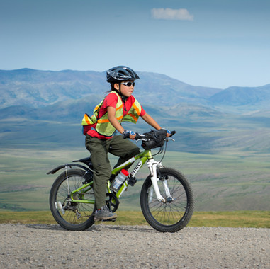 Riding to the Continental Divide