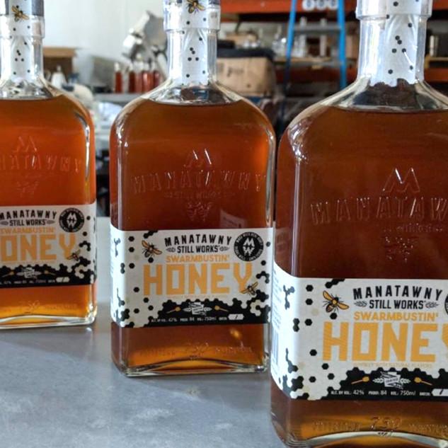 Manatawny - Honey Whiskey
