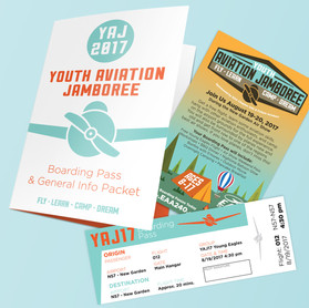 Youth Aviation Jamboree_Print Collateral