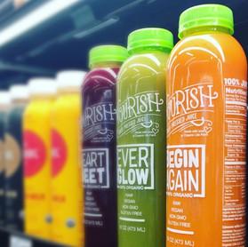 Nourish Juice Labeling
