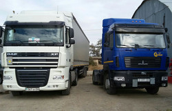 DAF and Super MAZ Prime Movers