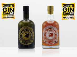 Brugse Gold Swan Gin uitgeroepen tot beste gerijpte gin ter wereld