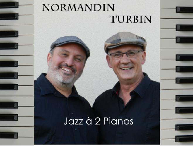Steve Normandin et Philippe Turbin