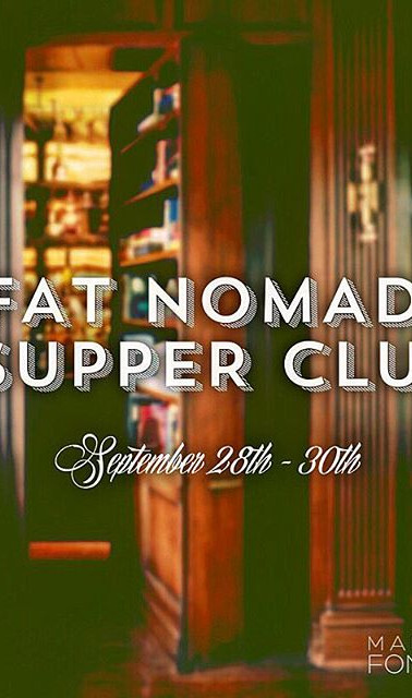 OUR FIRST SUPPER CLUB