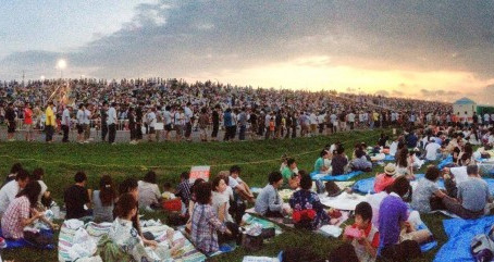 SSAJ goes to the 38th Edogawa Fireworks Festival!