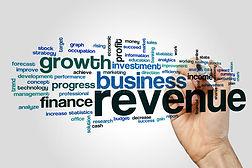 revenue-word-cloud-concept-grey-backgrou