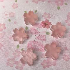 桜が香る 琥珀糖