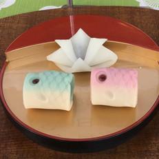 皐月の和菓子例