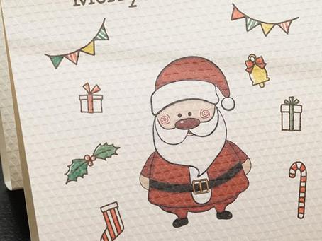 クリスマスの黒糖さぶれ
