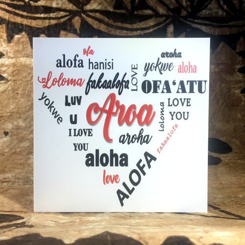 Nesian phresh designs polynesian greeting cards sydney nsw aroa m4hsunfo