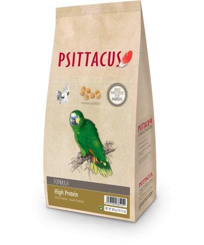 Psittacus Pienso Formula High Protein 800 gr