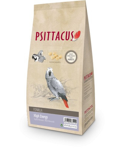 Psittacus Pienso Formula High Energy 800 gr