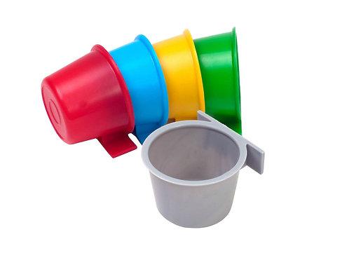 Polmark Comedero/Bebedero plástico redondo (A17)
