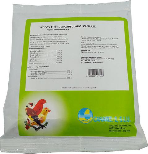 Teccox Microencapsulado Canariz 100 gr