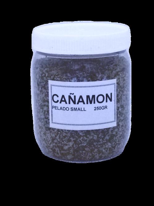 """Bote Cañamón pelado """" SMALL"""" grano fino 250 gr"""