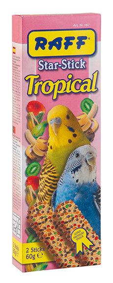 Raff - Star stick Tropical Periquitos 60gr