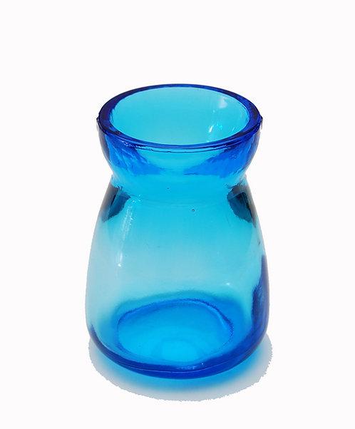 Bebedero cristal Lujo Turquesa