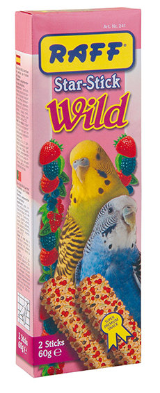 Raff - Star stick Wild Periquitos 60gr