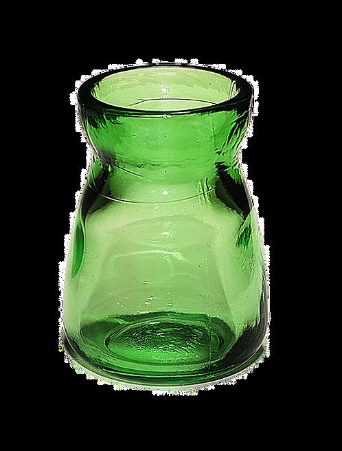Bebedero cristal Lujo Verde claro