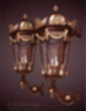 GREAT CHATEAU CARRIAGE SCONCE