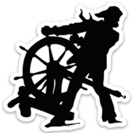 Fathom Logo Sticker