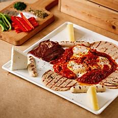 Kalimera breakfast (serves 2)