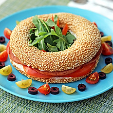 Koulouri Thessalonikis sandwich