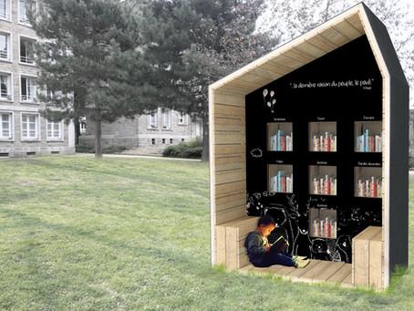 La cabane à livres - Nantes