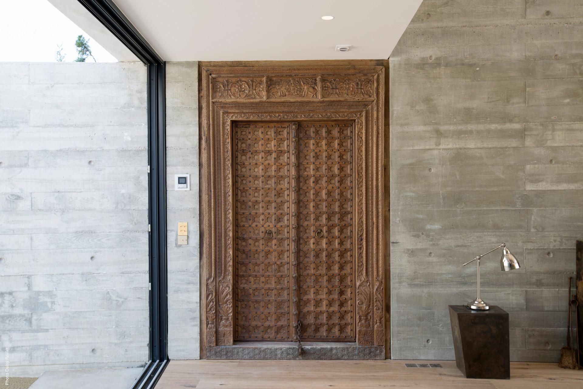 MAISON ILD / Porte indienne