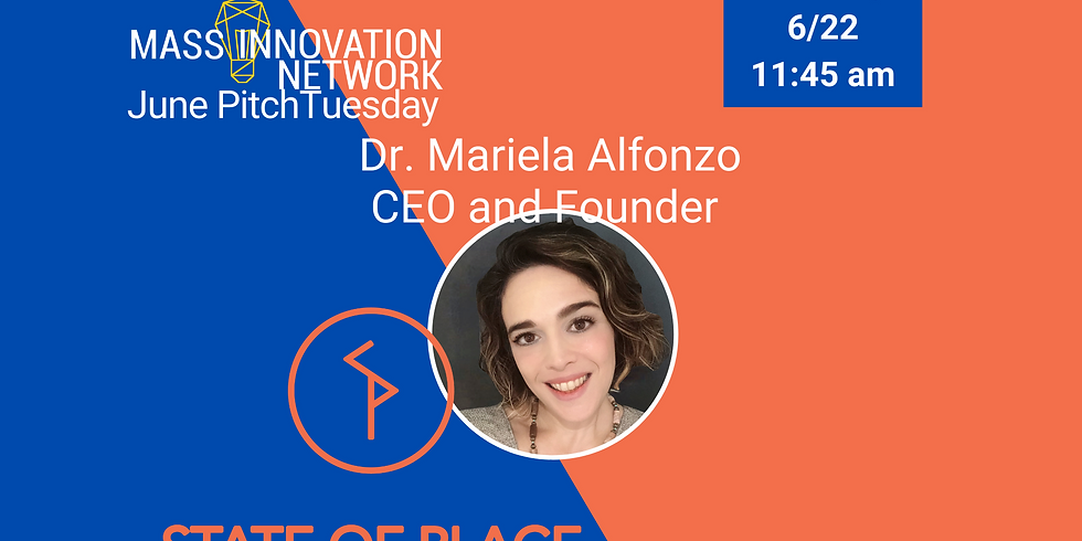 PitchTuesday featuring Dr. Mariela Alfonzo