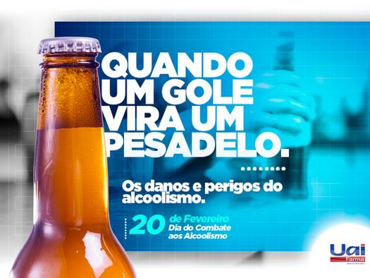 Você consome álcool ou o álcool consome você?