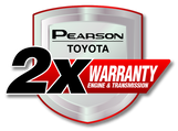 Pearson Toyota Warranty Logo
