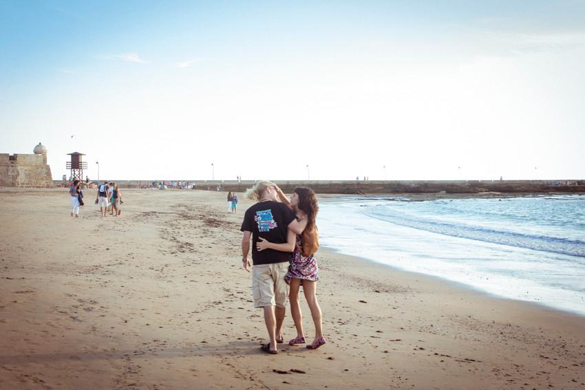 Fotógrafo bodas Badajoz, Sevilla y Mérida. Preboda en Cádiz